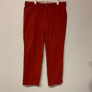 Polo by Ralph Lauren Men's Red Pants